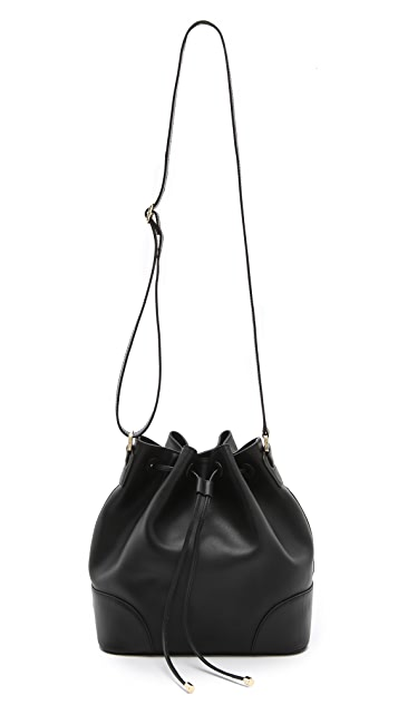 Tory Burch Robinson Drawstring Bucket Bag