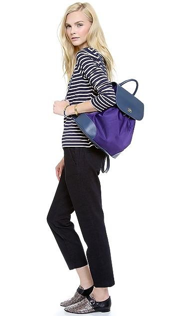 Tory Burch Robinson Nylon Backpack