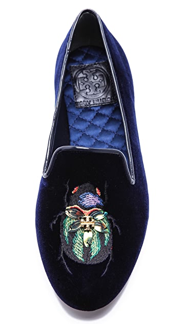 Tory Burch Easton Smoking Slippers