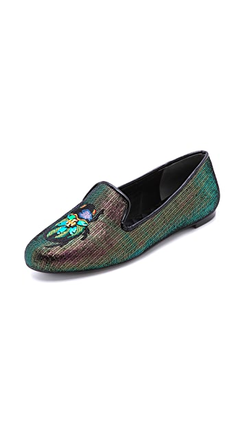Tory Burch Cailyn Smoking Slippers