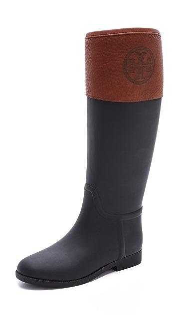 Tory Burch Diana Rain Boots