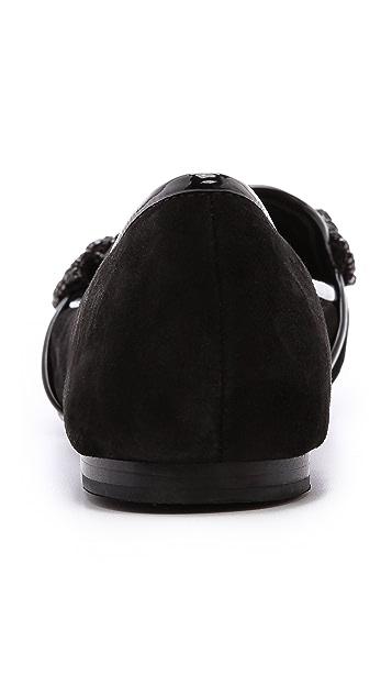 Tory Burch Carissa Bow Smoking Slippers