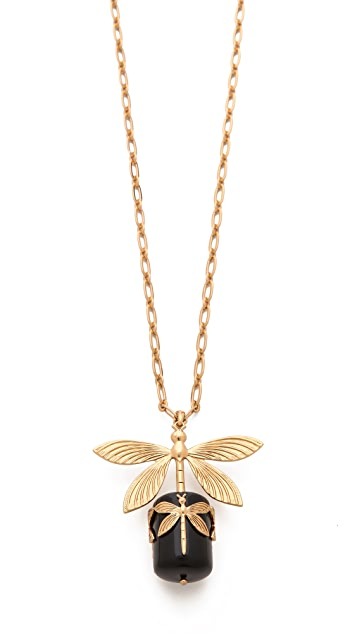 Tory Burch Dragonfly Pendant Necklace