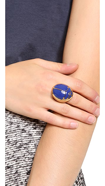 Tory Burch Winslow Beetle Ring
