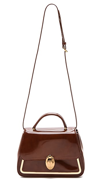 Tory Burch Scarab Top Handle Bag