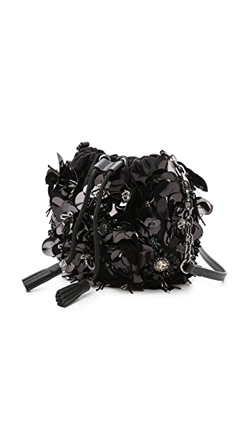 Tory Burch Flower Cluster Mini Bag