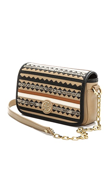 Tory Burch Robinson Zigzag Mini Bag