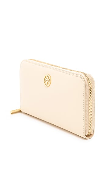 Tory Burch Robinson Zip Continental Wallet