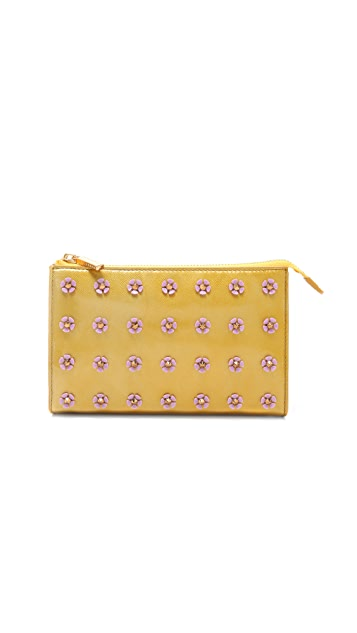 Tory Burch Flower Spike Clutch