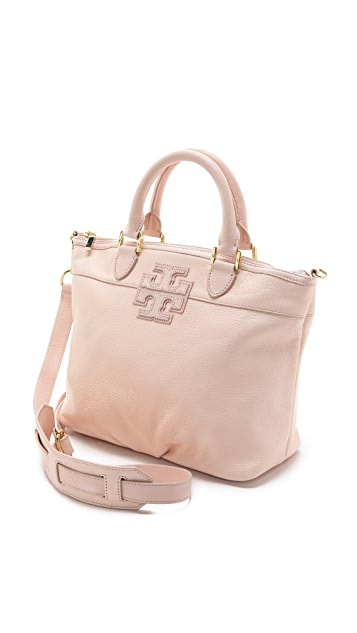 Tory Burch Stacked T Small Satchel