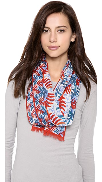 Tory Burch Oasis Print Scarf