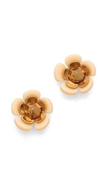 Tory Burch Flower Spike Stud Earrings