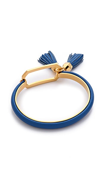 Tory Burch Tassel Charm Tension Bracelet