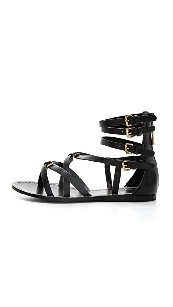 Tory Burch Lucas Flat Sandals