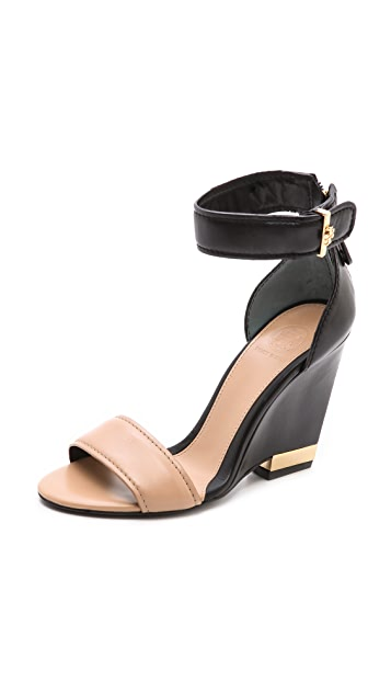 Tory Burch Carolyn Wedge Sandals