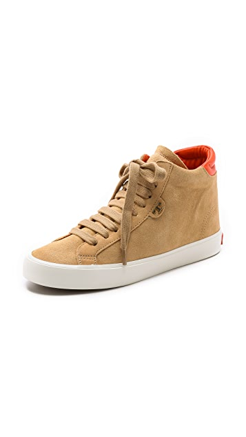 Tory Burch Caleb High Top Sneakers