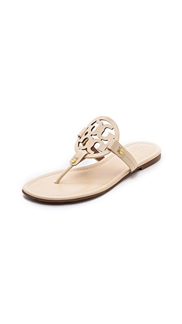 9511349525d Tory Burch Miller Logo Sandals