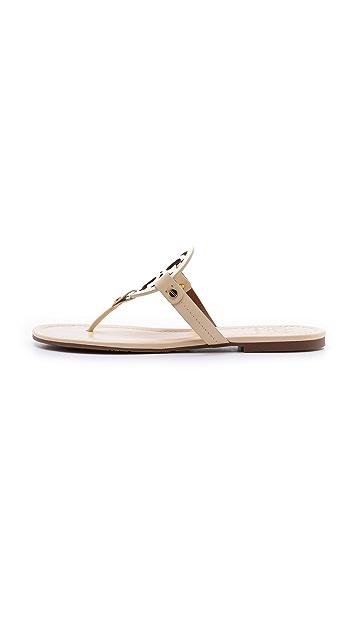 Tory Burch Miller Logo Sandals