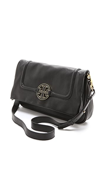 Tory Burch Amanda Fold Over Messenger Bag