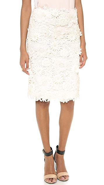 Tory Burch Mia Lace Skirt