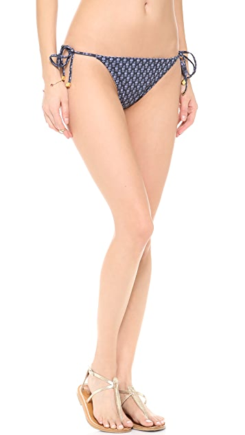 Tory Burch Boria Reversible Bikini Bottoms