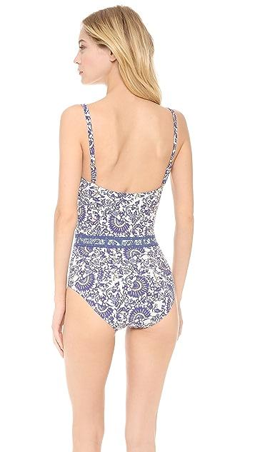 Tory Burch Madura One Piece Swimsuit
