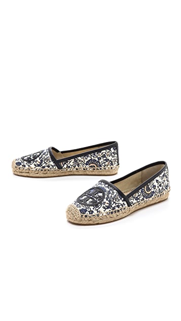 Tory Burch Angus Flat Espadrille