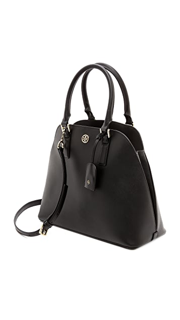 Tory Burch Robinson Open Dome Satchel