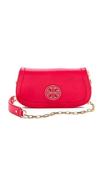 Tory Burch Amanda Logo Clutch