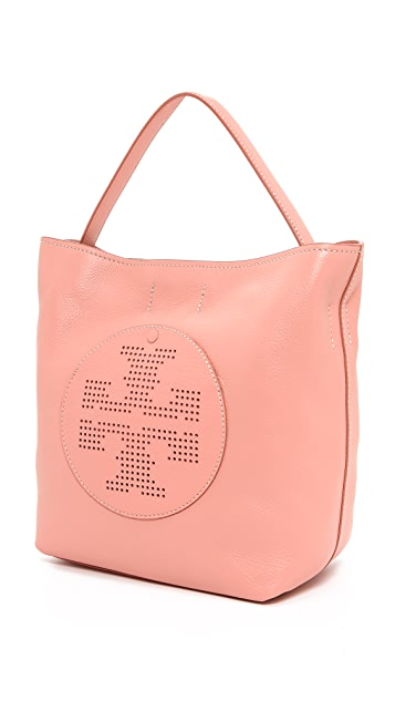 Tory Burch Perf Logo Hobo