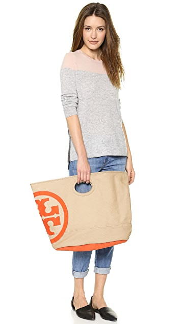 Tory Burch Beach Bucket Bag