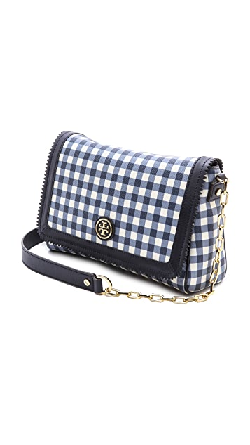 Tory Burch Kerrington Gingham Cross Body Bag