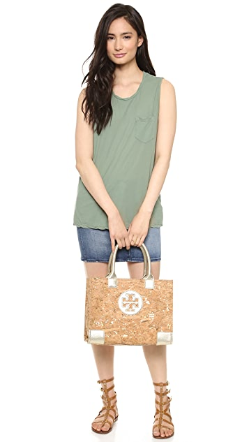 Tory Burch Ella Cork Mini Tote
