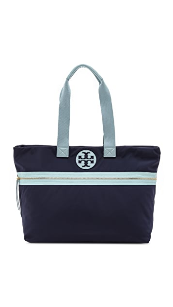 Tory Burch Soft Nylon Tote