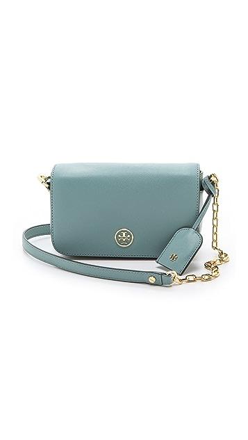 Tory Burch Robinson Adjustable Chain Mini Bag