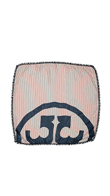 Tory Burch Fleet Stripe Scarf