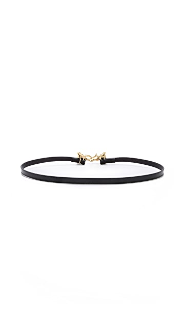 Tory Burch Kissing Elephant Belt