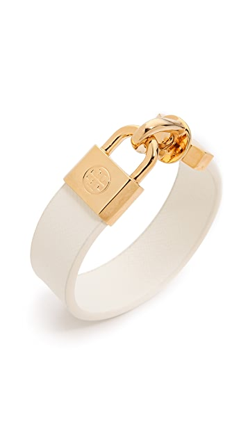 Tory Burch Lock Closure Bracelet
