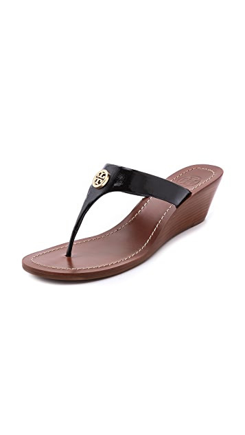 Tory Burch Cameron Wedge Thong Sandals