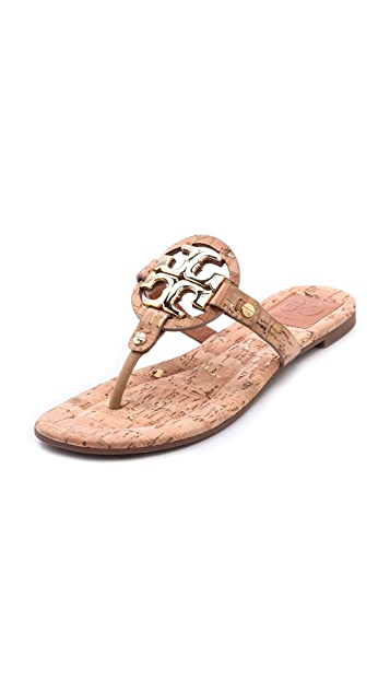 a189a806fae Tory Burch Miller 2 Cork Sandals | SHOPBOP