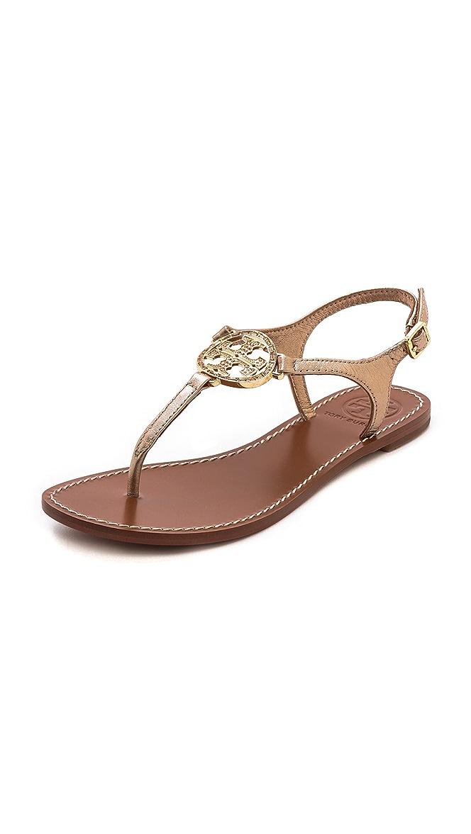 18f71b9c3931d Tory Burch Violet Thong Sandals