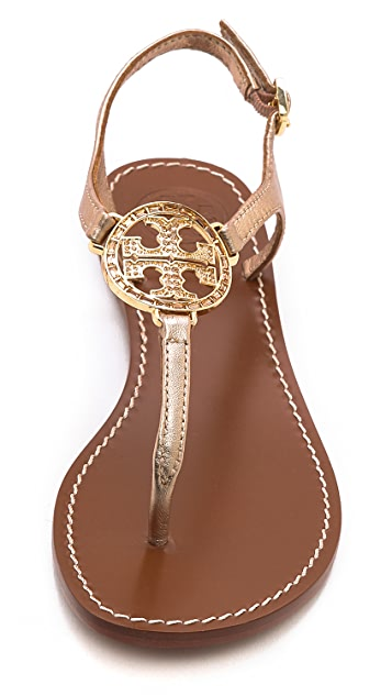 78075946232b ... Tory Burch Violet Thong Sandals ...