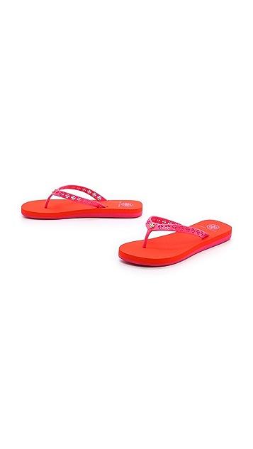 Tory Burch Miranda Flip Flops