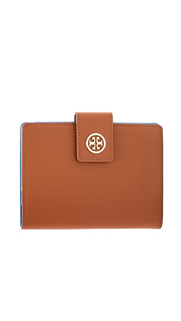 Tory Burch Robinson Large Passport Holder