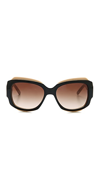 Tory Burch Classic Square Sunglasses