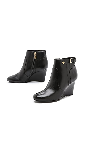Tory Burch Milan Wedge Booties