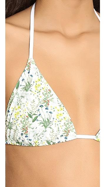 Tory Burch Tomino Triangle Bikini Top