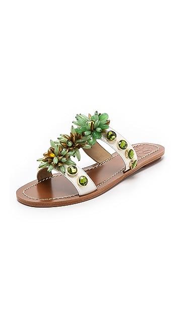Tory Burch Sydney Embellished Sandals