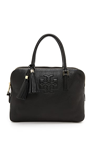 Tory Burch Thea Triple Zip Compartment Satchel