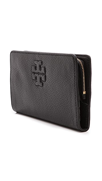 Tory Burch Thea Hidden Zip Continental Wallet